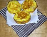 Omelet fettuccini langkah memasak 3 foto