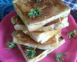 Roti Panggang (Ropang) Coklat Keju langkah memasak 4 foto