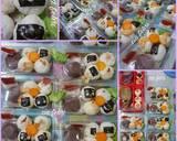 Temari sushi ball ala fe' langkah memasak 2 foto