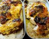 Chicken thigh creamy with Garlic Sauce #Ketopad_cp_Bento langkah memasak 5 foto