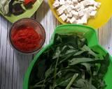 Cah Kangkung Belacan Mix Tahu langkah memasak 1 foto