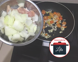 Sapo tahu ayam asam manis nanas mudah#homemadebylita langkah memasak 4 foto