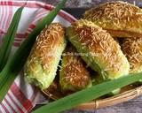 Cheese Pandan Potato Bread langkah memasak 19 foto