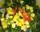 Sayur Bening Bayam Jagung langkah memasak 7 foto