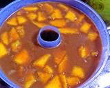 Puding mangga pandan langkah memasak 1 foto