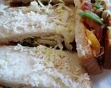 Peri peri veg sandwich recipe step 5 photo
