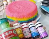 Cookpad Rainbow Cake langkah memasak 3 foto