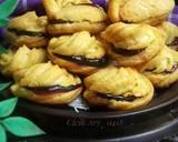 Soes mini blueberry #pr_soesbukansusi langkah memasak 7 foto