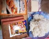 Sosis Mentai Rice langkah memasak 1 foto