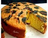 Leopard Cake Cemong negro langkah memasak 11 foto