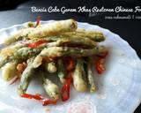 Buncis Cabe Garam Ala Ekitchen (#pr_ recookmantenelise) langkah memasak 4 foto