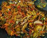 Jengkol Teri Melinjo Cabe Ijo langkah memasak 5 foto