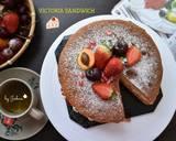 Victoria Sandwich Cake langkah memasak 5 foto