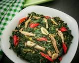 Tumis Daun Pepaya langkah memasak 5 foto