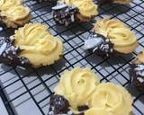 Cookies Semprit ala Valentines langkah memasak 5 foto