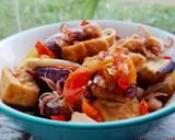 Cumi, Tahu & Terung Bumbu Tumis langkah memasak 8 foto