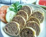 Beef Rollade #Maree langkah memasak 8 foto