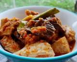 Cakalang Asap & Terong Kuah Pedas langkah memasak 6 foto