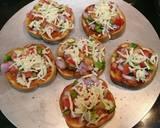 Garlic Bread Pizza Discs recipe step 3 photo