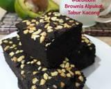 257. Brownies Alpukat Tabur Kacang langkah memasak 15 foto