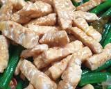 Tumis Kacang Panjang + Tempe langkah memasak 5 foto