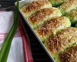 Cheese Pandan Potato Bread langkah memasak 21 foto