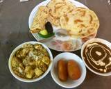 Dal Makhani,paneer -butter masala,tandoori parathas recipe step 17 photo