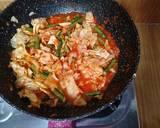 Tumis pedas Kacang Panjang & Kol langkah memasak 4 foto