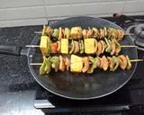 Paneer Shashlik recipe step 4 photo