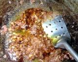 Pakcoy Saos Tiram (with garlic and corned beef) langkah memasak 3 foto