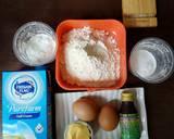 Mille Crepe Blueberry Sauce langkah memasak 1 foto