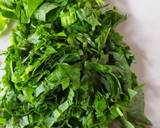 Spinach Omelet (Telur Dadar Bayam) langkah memasak 1 foto
