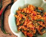 Usus Ayam Balado langkah memasak 3 foto