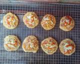 Pizza Mini EMPUK Proofing 1 Kali No Ulen No Telur langkah memasak 15 foto