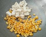 Paneer corn salad recipe step 1 photo