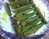 Malai stuff okra recipe step 1 photo