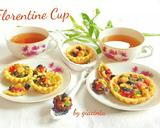 Kukis Cup toping selai Nanas dan Coklat dark #RabuBaru langkah memasak 8 foto