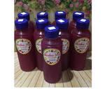 Diet Juice Longan Purple Cabbage Raspberry Orange langkah memasak 2 foto