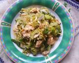 Tumis Pare Bunga Pepaya Rebon langkah memasak 6 foto