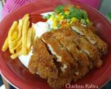 Chicken Katsu langkah memasak 10 foto