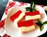 Puding Bendera Merah Putih langkah memasak 4 foto