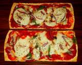 Mike's 10 Minute Salt Brick Pizza Margheritas recipe step 4 photo
