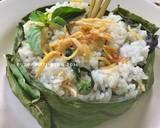 Nasi Bakar Teri Kemangi langkah memasak 4 foto