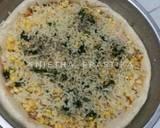Pizza saus bolognese langkah memasak 7 foto