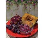 Diet JuiceRaspberry Grape Dragon Fruit Pumpkin langkah memasak 1 foto