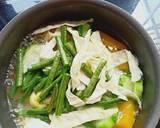 Sayur bening waluh langkah memasak 2 foto