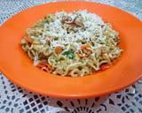 Indomie Goreng Keju Creamy langkah memasak 10 foto