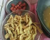 Sosis Jamur Crispy Pedas Manis langkah memasak 2 foto