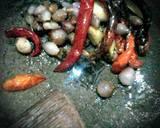 Sayur pakis kuah santan langkah memasak 3 foto