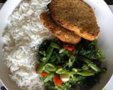 Chicken Fillets with greenish vegetable lunch recipe step 4 photo